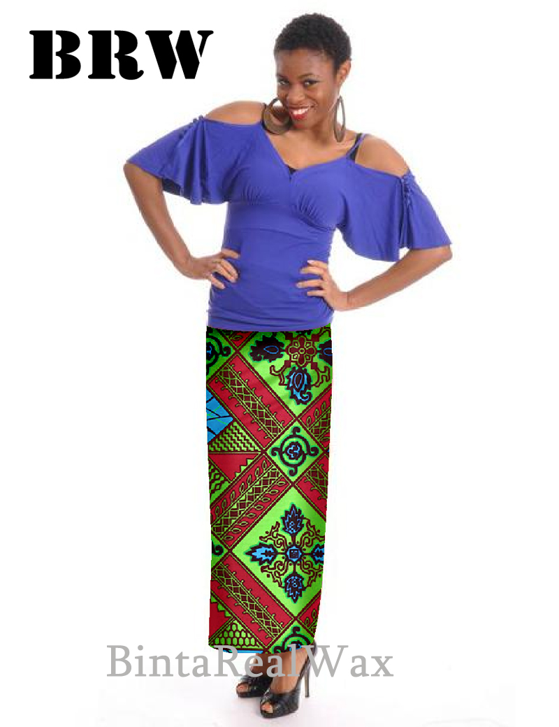 Fashion Casual Long Skirts Women Private Custom Plus Size 6xl Java Print Maxi rokken African Dashiki Clothing Party Unique WY260(China (Mainland))