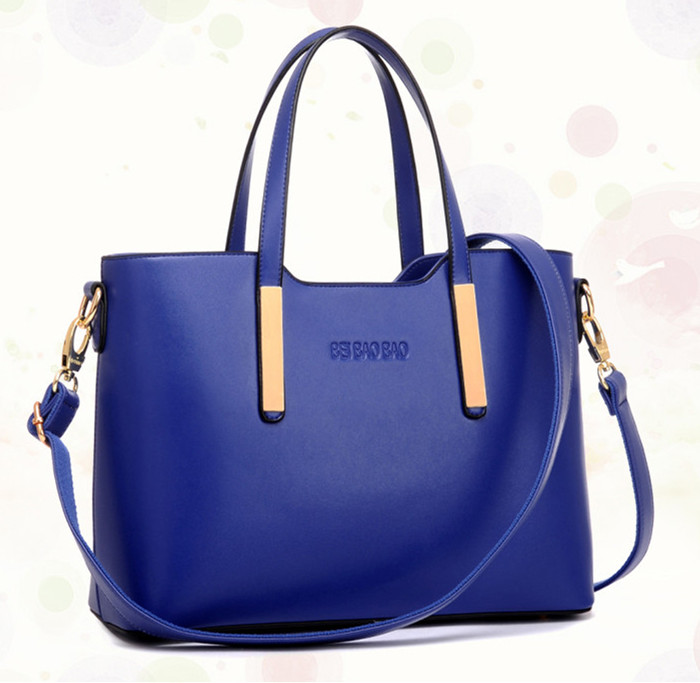 2016 New Women Handbag Fashion Shoulder Casual Large Michaeled Designer Pu Leather Tote Bag Sac A Main Femme De Marque(China (Mainland))