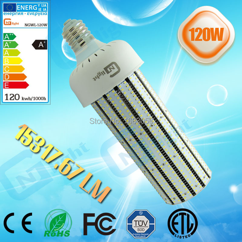 parking lot Canopy post top retrofit Kits gas station high bay smd2835 bulb light 120W led lamps(China (Mainland))