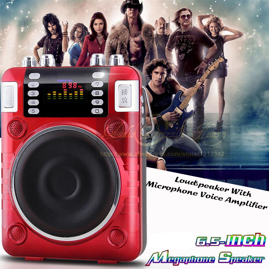 200W Power Amplifier Mini Portable Fm Radio Portatil Digital Radio FM Loudspeaker Mp3 Music Player USB U Disk TF/SD Card Speaker