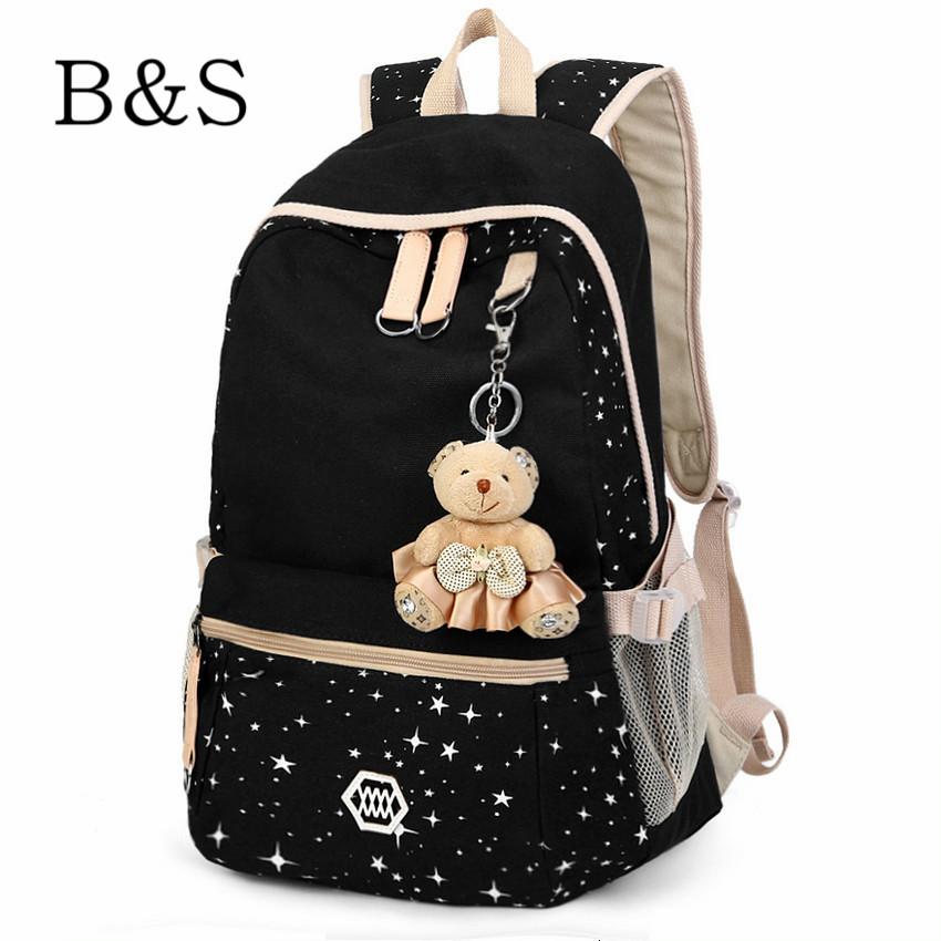 New Fashion Harajuku Printing Backpack For Teenage Girls School Bag Pack Laptop Backpacks Travel Bags Female Morrales 7 Styles(China (Mainland))