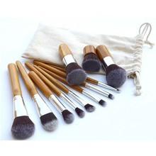 8 Pcs Professional Make up Brush Set Foundation Brushes Kabuki Fan Brushes Case(China (Mainland))