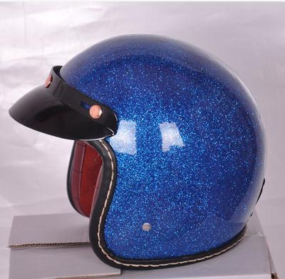 Фотография 2015 new fashion cool motorcycle open face helmet colorful jet vintage mens helmet casco capacete helmet can add goggle