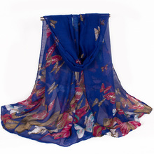 Animal Butterfly Women Scarf Insect Brand Women Scarves With Fashion Design 180*80cm(China (Mainland))
