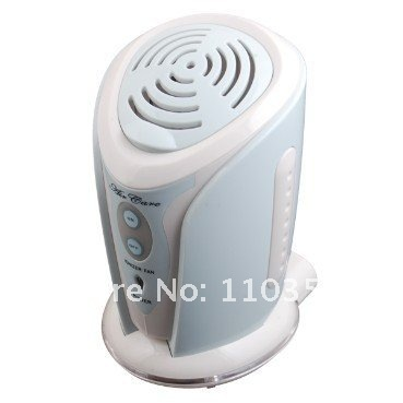 Portable Air Ionizer Purifier Fan With Aroma Diffuser
