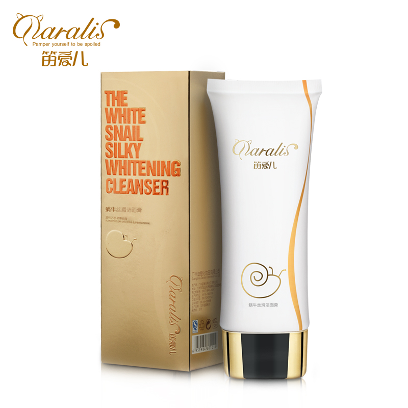 DARALIS Snail Serum Facial Cleanser Acne Treatment Oil Control Face Cleanser Tool Blackhead Remove Whitening Skin Face 110g(China (Mainland))
