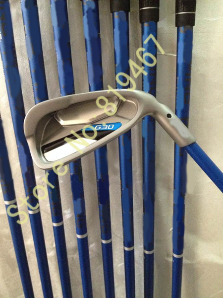 Golf G30 irons set 456789WUS TFC419 graphite shaft regular flex Oem golf clubs New top quality