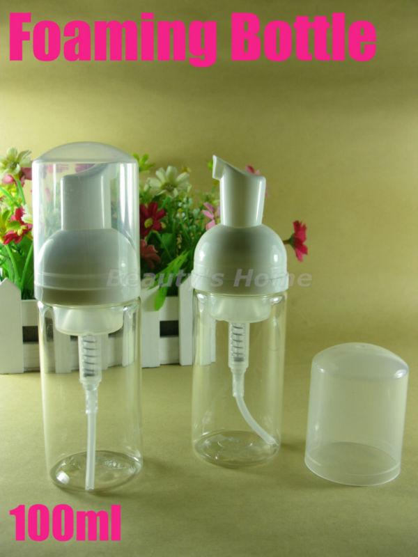 100ML foaming bottle,foaming pump,soap dispenser,foam bottle free shipping #1060(China (Mainland))