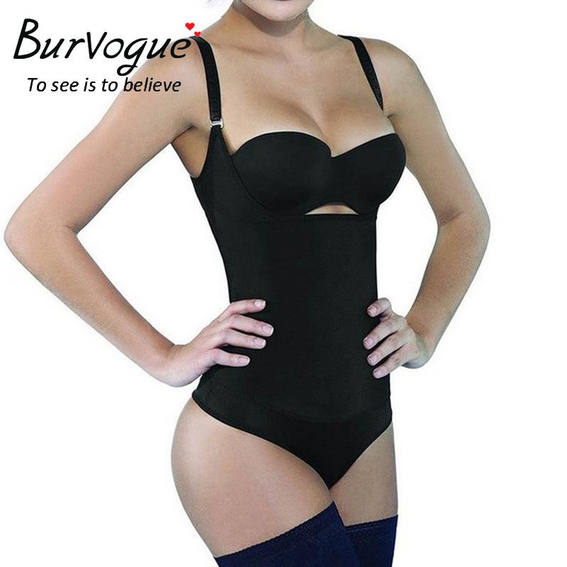 Burvogue Women Latex Push Up Corset Slimming and Waist Training Corset with Thongs Tummy Control Underbust Bustiers & Corset(China (Mainland))