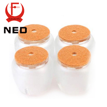 NED 8pcs/Set Chair Leg Caps Silica gel Feet Protector Pads Furniture Table Covers Round Bottom Non Slip Cup For Chairs(China (Mainland))
