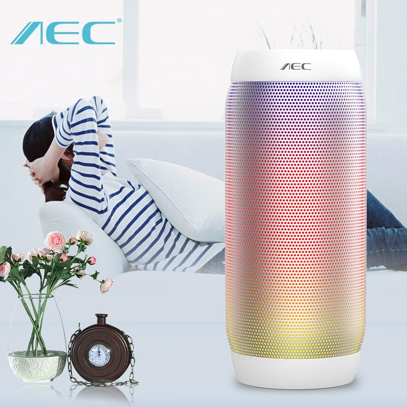HOT AEC colorful Waterproof Bluetooth Speaker Wireless NFC Super Bass Subwoofer Outdoor Sport Sound Box FM Portable Speaker