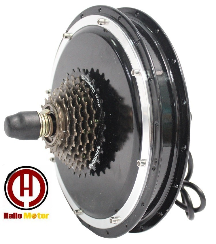 Design Powerful 36V 48V 500W Electric Bicycle Brushless Gearless DC Cycling Hub Motor Rear Wheel eBike - Shop513166 Store store