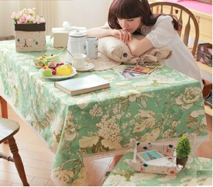 Multi-purpose cloth tablecloths table cloth pastoral tablecloths(China (Mainland))