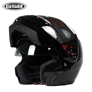 Promotion GSB-339 motorcycle helmet / electric bicycle helmet double lens anti-UV / antimist For season Spring Autumn and Winter