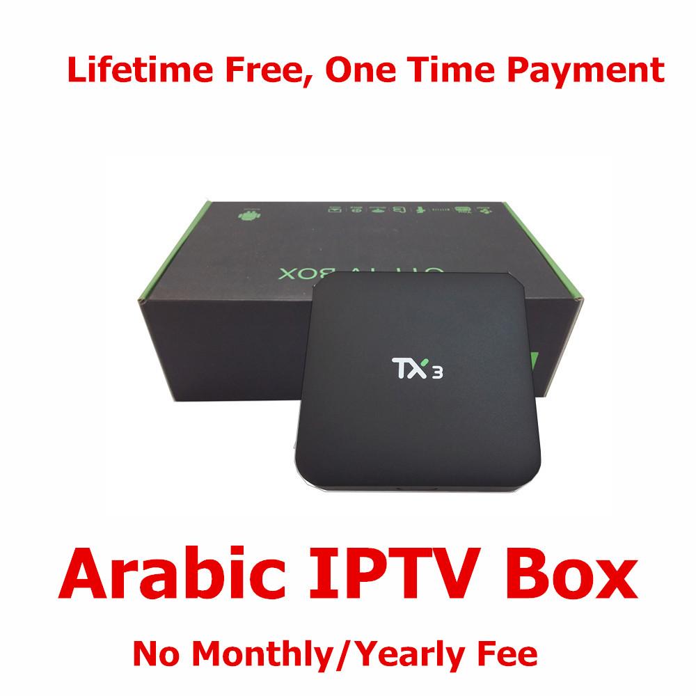 New Products 2016 Set Top Box Hot Video Player IPTV Arabic IP TV 16.0 KODI Arabic TV Box IPTV No Monthly Fee Free Forever(China (Mainland))