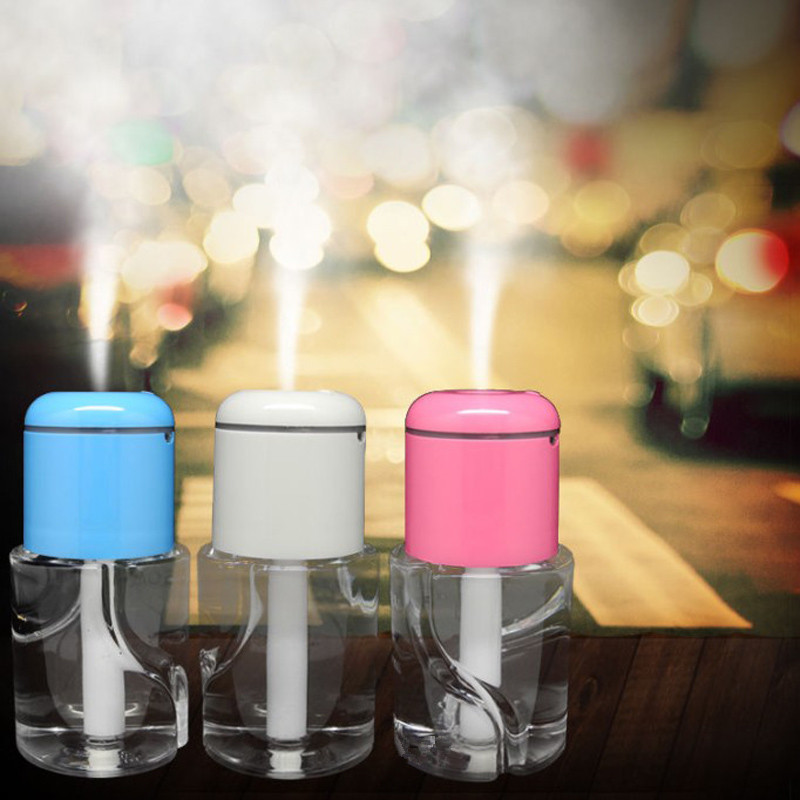 Aroma Diffuser Bottle ~ Water bottle car aroma diffuser steam air humidifier