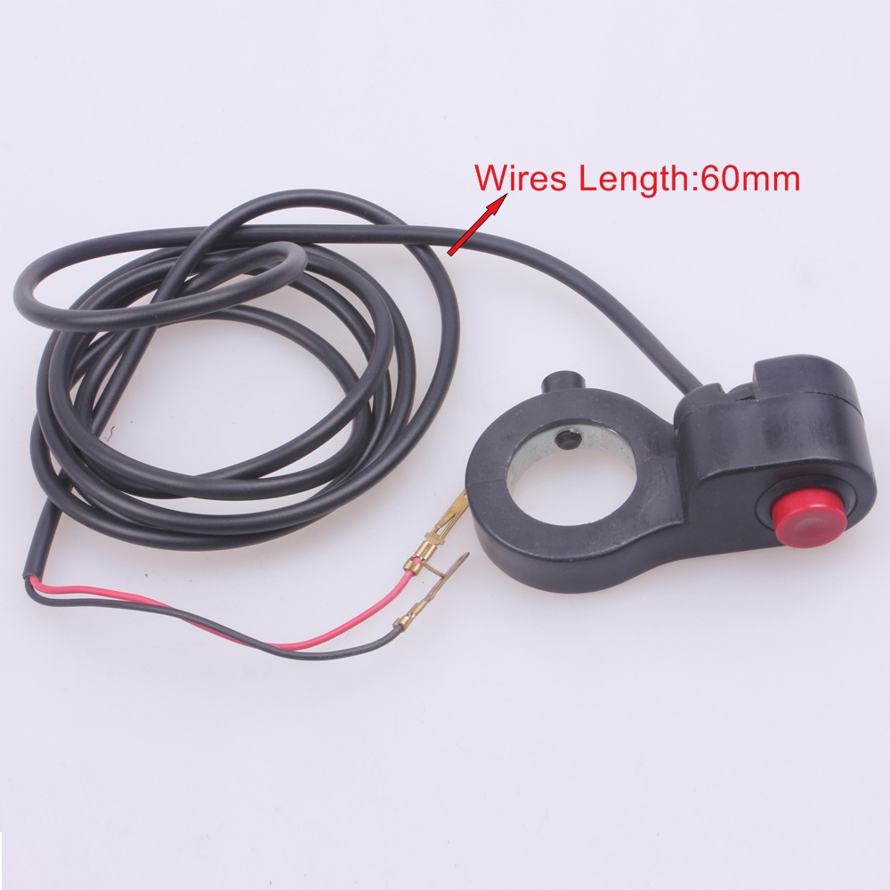 UNIVERSAL LIGHT SWITCH MOTORCYCLE DIRT PIT BIKE ATV 2 WIRES<br><br>Aliexpress