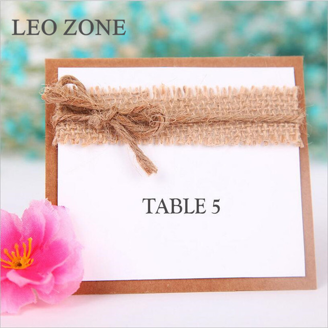 20pcs papercard jute burlap hessian wedding table numbers wedding decor decorations mariage decoration boda event party - Aliexpress Decoration Mariage