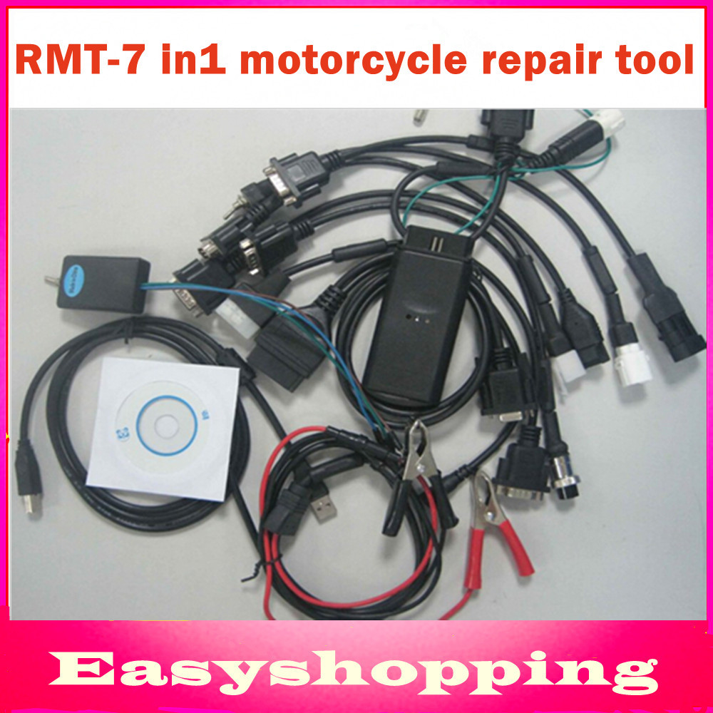 2016 Motorcycle scanner RMT-7 in1 For H0nda,SYM,KYMCO,for Y-AMAHA,for S-UZUKI,HTF,PGO Series Brands Motorcycle Diagnostic tool(China (Mainland))