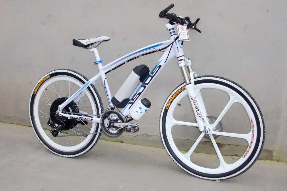 China Electric Bicycle 36V Lithium Battery Five speed 21 Speed Change 250W Disc Brakes Brushless Multifunction