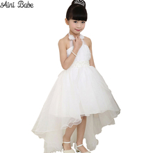 Buy 2017 Summer Princess Wedding Bridesmaid Flower Girl Dress Child Wear Kids Clothes White Party Tutu Dresses Girl Clothes for $11.98 in AliExpress store