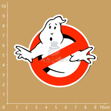 Buy 3pcs/set LOGO Ghostbusters Phone sticker Notebook refrigerator skateboard trolley case backpack Tables book sticker PVC sticker for $1.26 in AliExpress store