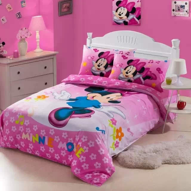 Minnie mouse bedding sets picture more detailed picture for Twin size beds for girls