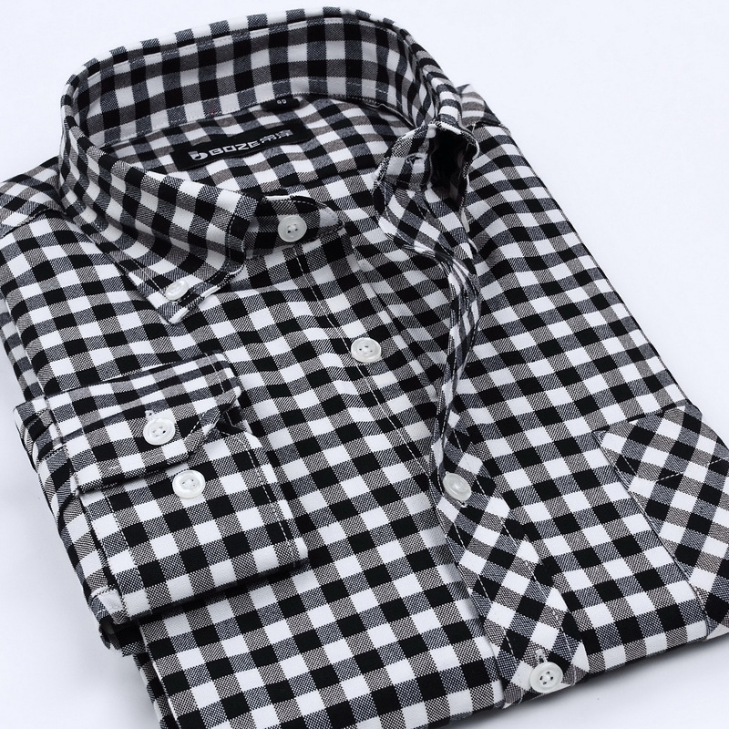 Black And White Mens Shirts