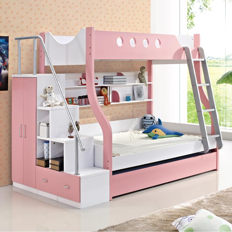 Picture bed children 39 s furniture bunk bed bunk beds on bed for Small bunk beds for toddlers