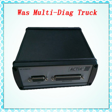 DHL Free! 2015 Professional WAS Multi-Diag Truck Diagnostic Tool Bluetooth Multi-Language Heavy Duty Truck Diagnostic Scanner(China (Mainland))