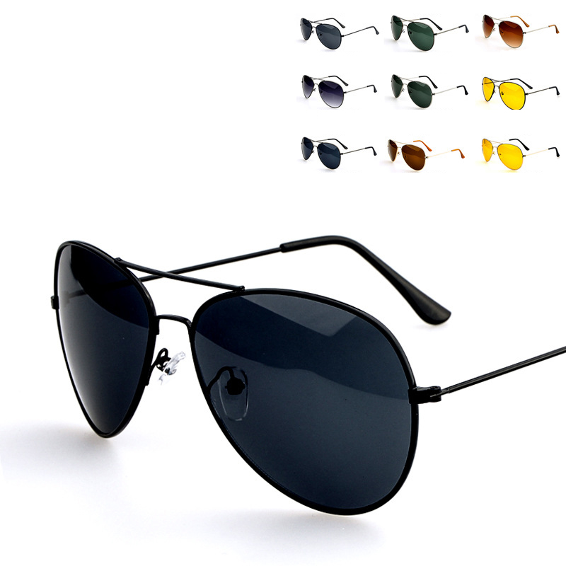 Classic Style Men Sunglasses Fashion Metal Frame UV Protection Sun glasses for Men Summer Sunglasses oculos