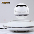 Wireless Bluetooth magnetic levitation speakers Smart Touch Buttons With LED lighting For Phones