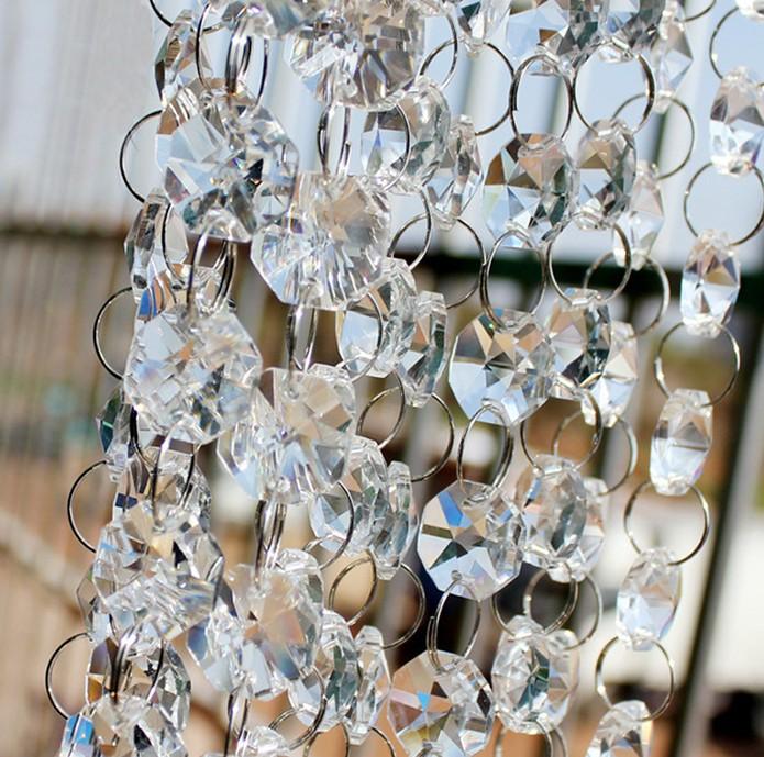 Стеклянные бусы для декора