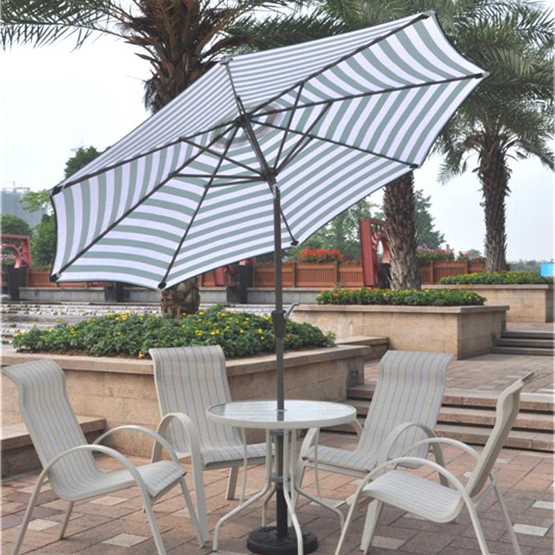 Compra mesa de jard n paraguas online al por mayor de - Sombrilla de terraza ...