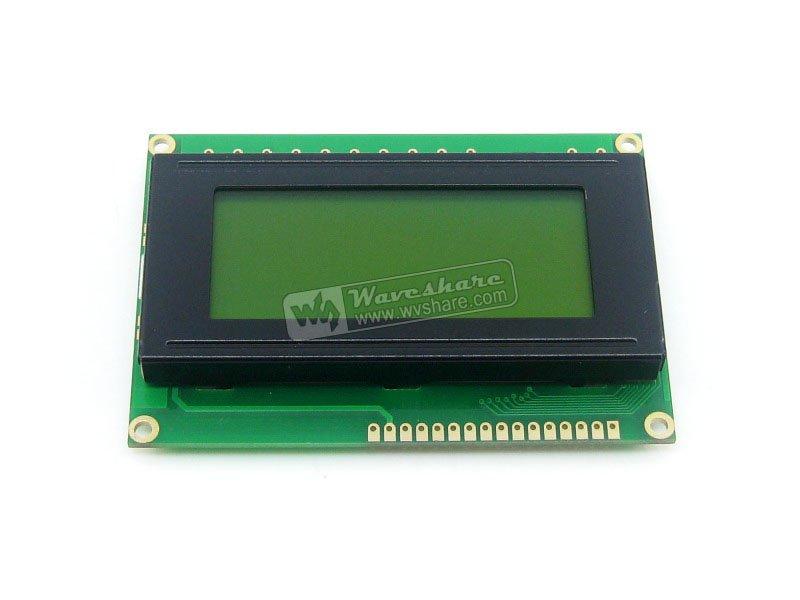 Free shipping 1604 164 16*4 Character LCD Module LCM Display TN/STN Yellow Backlight Black Character 5V Logic Circuit(China (Mainland))