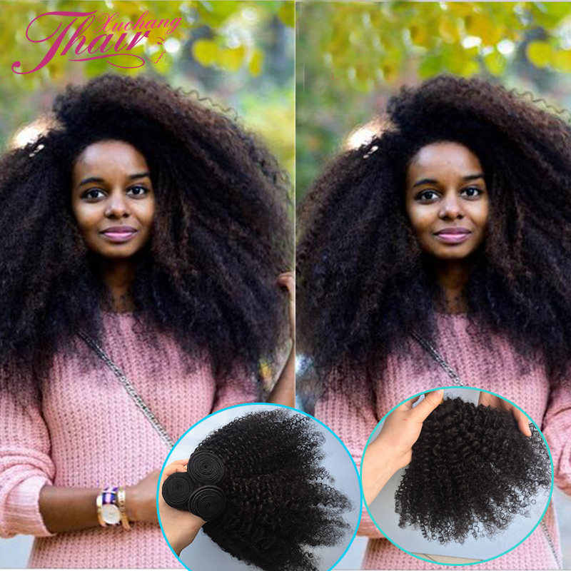 Cheap 3 Bundles Brazillian Afro Kinky Curly Hair 7a Mink Brazilian Curly Hair Virgin Brazilian Kinki Afro Curly Hair Extensions