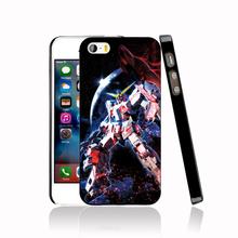 12176 Gundam Unicorn dark Cover cell phone Case for iPhone 4 4S 5 5S 5C SE 6 6S Plus 6SPlus