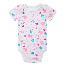 2016 New Arrival Fantasia Carter Baby Bodysuit Infant Jumpsuit Bebe Overall Short Sleeve Body Suit Baby Clothing Set Summer