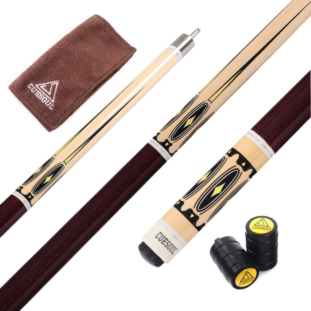 CUESOUL CSPC003 57 inch Pool Cue Stick With Cue Towel and Cue Joint Protector(China (Mainland))