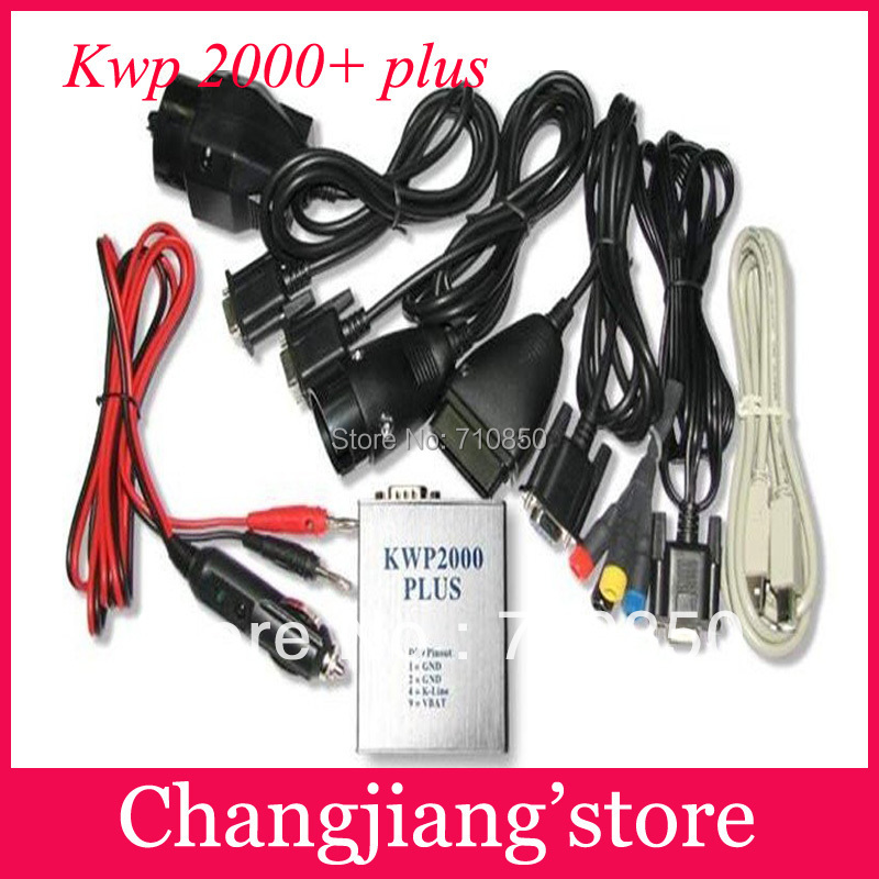2014 Free shipping! Chip Tunning ECU KWP2000 Plus ECU REMAP Flasher OBD OBD2 Diagnostic Tool with best quality best service(China (Mainland))