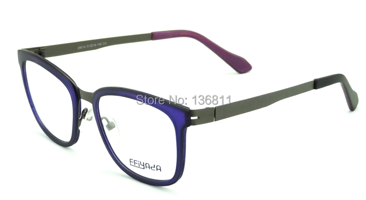 High Quality Stainless Steel And Nylon Mixed Optical Frame Vintage Eyeglasses Frame Fashion Brand Glasses Frame 29014Одежда и ак�е��уары<br><br><br>Aliexpress
