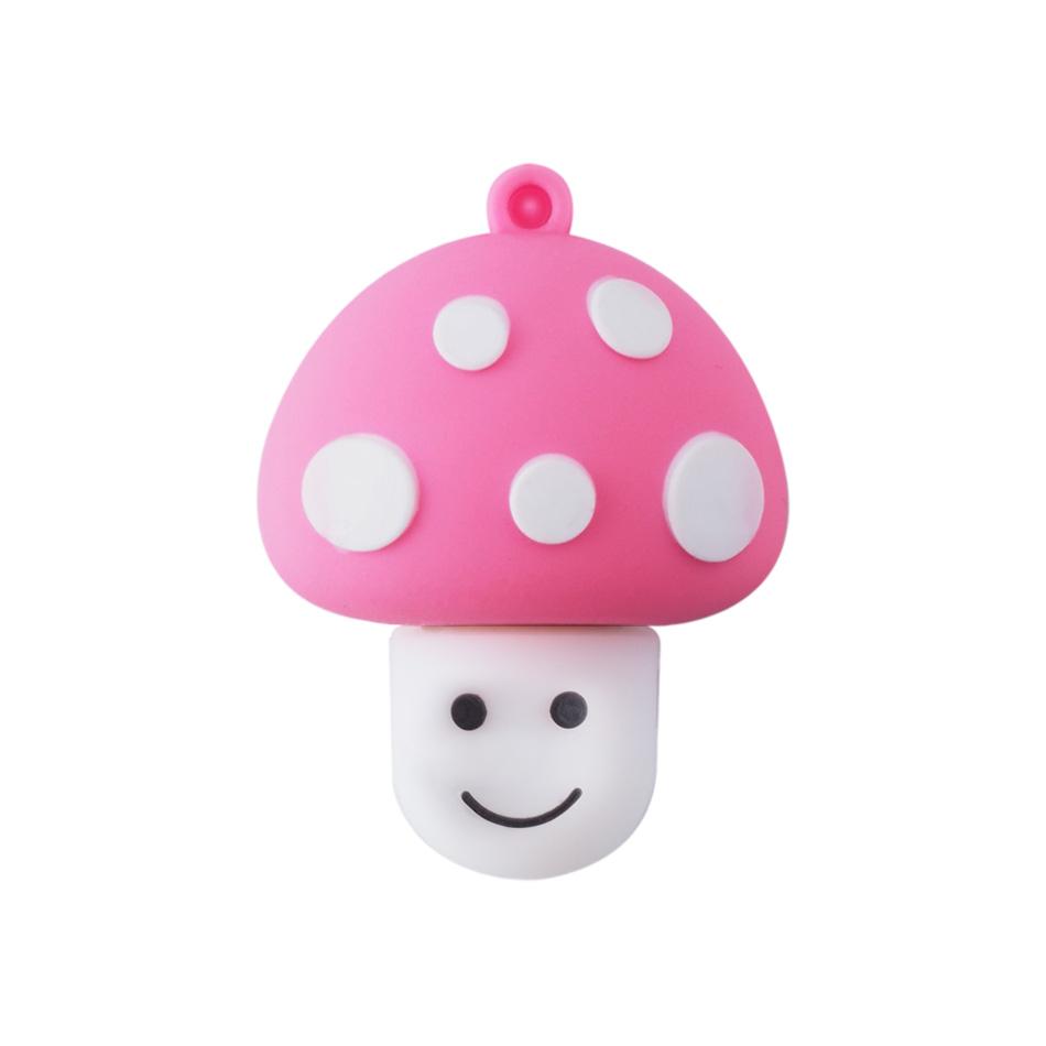 Cute Mushroom Head USB Flash Drive Pen Drive 4GB 8GB 16GB 32GB 64GB Memory Stick USB 2.0 Pendrive U Disk Flash Card(China (Mainland))