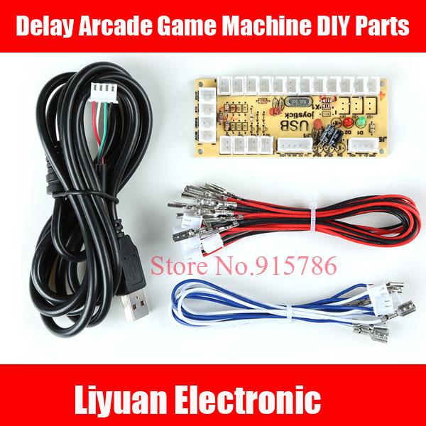 Zero Delay Arcade Game Machine DIY Parts/Zero Delay Encoder Board/Arcade Joystick Control Board/PC rocker DIY circuit board(China (Mainland))