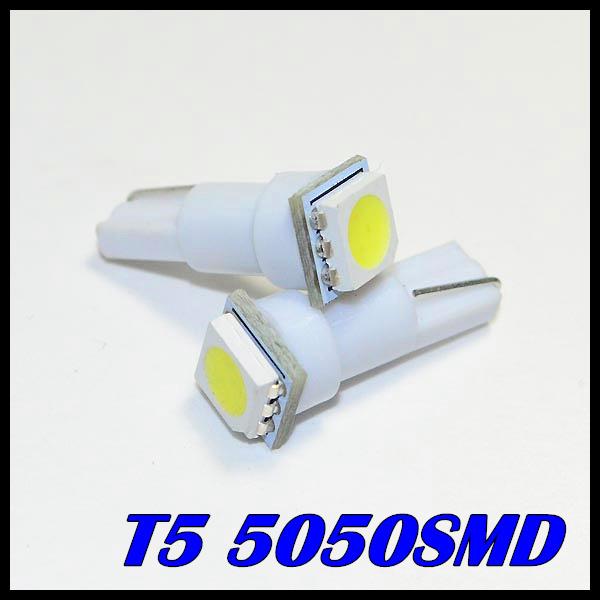 Гаджет  10pcs Free shipping  Car Interior LED T5 led SMD 5050  Dashboard Wedge LED Car Light Bulb Lamp Yellow/Blue/green/red/white None Автомобили и Мотоциклы