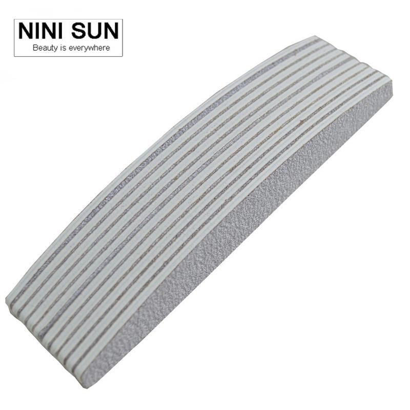 4Pcs Nail File Set Professional Salon Nail Files Grey100/180 Sanding Nail Buffer Boat Type Nail Tools Supplier Wholesale 2016(China (Mainland))