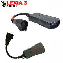Lexia 3 Full set Diagbox v7.56 for C-itroen Auto Code Reader Professional Diagnostic-tool Lexia3 pp2000 with LED light(China (Mainland))