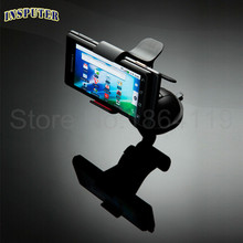 360 Rotation Stand for Mobile Phones Adjustable Car Styling Phone Stand Support Holder Vehicle Mount Sucker (China (Mainland))