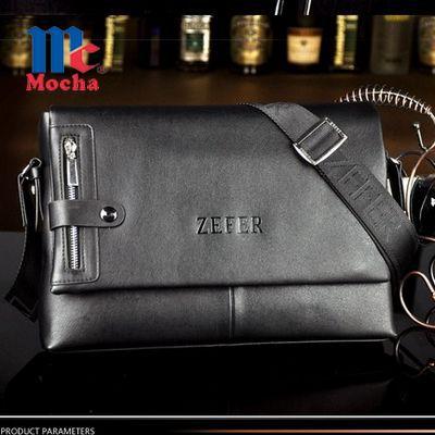Handsome Genuine leather bags for men messenger bag Top Quality men's shoulder travel bags brand men crossbody bag for men RM028(China (Mainland))