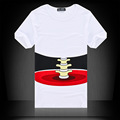New Brand Men 3D T Shirt Short Sleeve Cotton T shirt For Men Famous Breathable O
