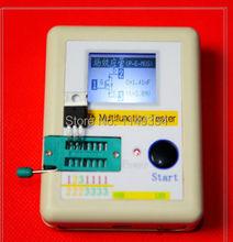 2015 Latest ESR Meter Transistor Tester Diode Triode Capacitance Mos + CASE + Li-ion battery(China (Mainland))